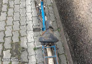 Bicicleta dobravel com mudanças
