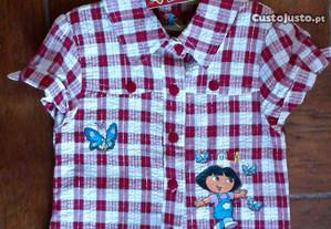 Camisa Dora, a exploradora
