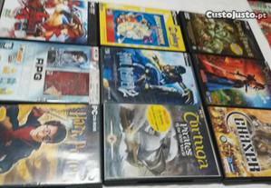 Jogos dvd para P.C. vários impecaveis