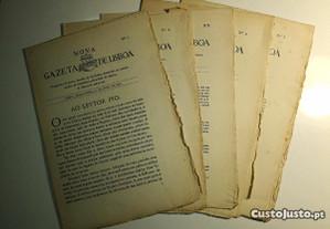 Nova Gazeta de Lisboa, n.s 1,2,3,4 e 5 (1935)