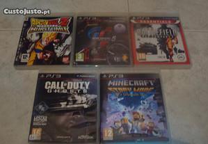 Lote 4 jogos ps3 battlefield bad company 2 etc