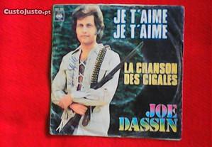 Joe Dassin - je t'aime, je t'aime, vinil single