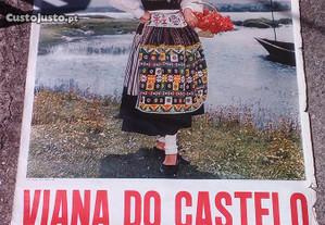 cartaz antigo Viana Castelo
