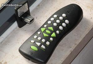 Xbox: Comando DVD + receptor