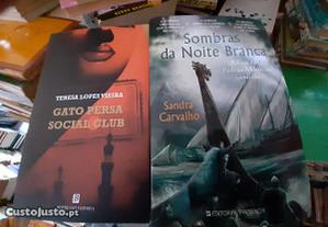 Obras de Teresa Lopes Vieira e Sandra Carvalho