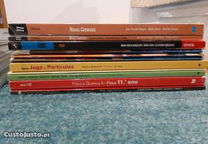 Manuais Escolares e Livros de Apoio 11. ano