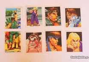Cromos - Autocolantes Super Street Fighter 2