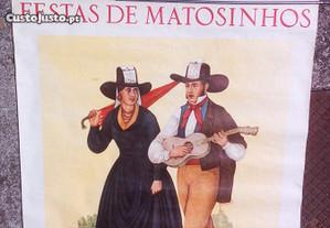 cartaz antigo festas Matosinhos 1978