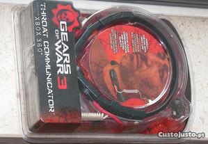 Xbox 360: Gears of War 3 Throat Comunicator