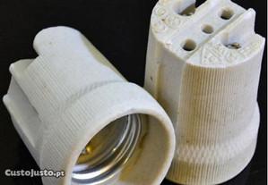 Casquilhos de cerâmica - E27