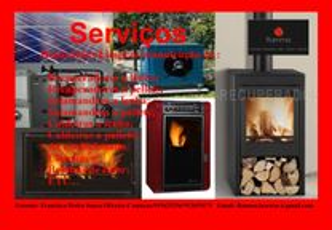 Reparação,Limpeza e Manutenão de aquecimentos