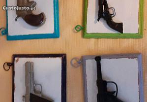 Pack de miniaturas de armas