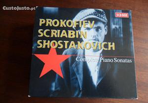 Prokofiev-Scriabin-Shostakovich: Complete Piano So