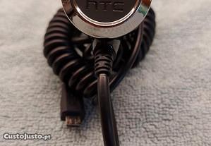 Carregador de isqueiro carro HTC