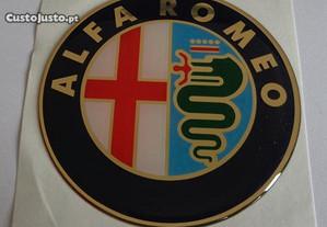 Símbolos Alfa Romeo em vinil de 75mm