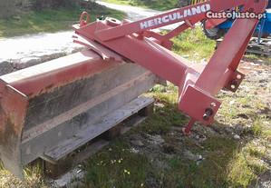 Pá niveladora para tractor