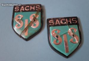 Motorizada SIS Sachs V5 emblemas plástico 50 cc