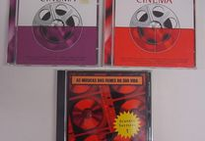 CD's com temas de bandas sonoras