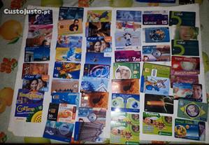 Coleção de Cartões de Telefone
