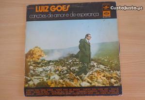 Disco vinil LP - Dr. Luiz Goes - Canções de amor e