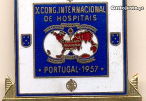 Pin X Cong. Internacional de Hospitais 1957