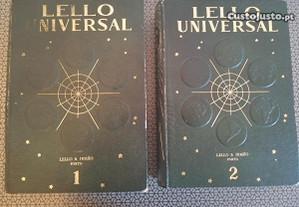 Livros Lello Universal (2 Vol.) P. Grátis.