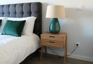 Apartamento semi novo mobilado