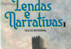 Lendas e Narrativas I de Alexandre Herculano