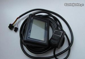 LCD bike, baterias e acessorios
