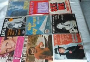 Discos vinil singles 45r. anos 80 ( vários)