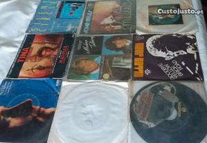 Discos vinil singles 45 r. ( vários)