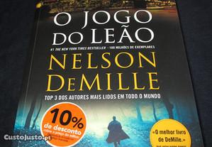Livro O jogo do leão Nelson DeMille Marcador
