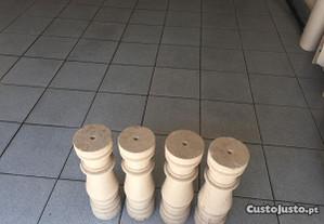Colunas de pedra