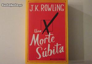 Uma morte súbita- J. K. Rowling