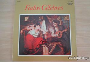 Disco vinil LP - Fados Célebres