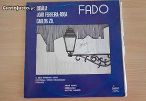 Disco vinil LP - Fado - Cidália / João Ferreira