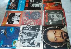 Discos vinil singles 45r. anos 80 ( varios )