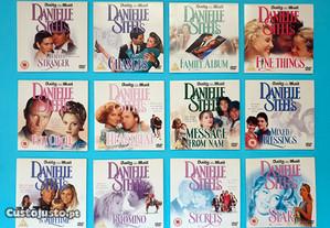 Coleção 12 DVDs Romances de Danielle Steel
