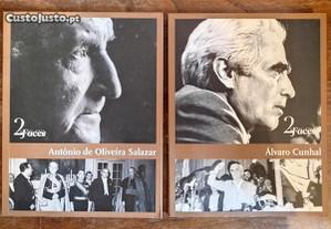 Coleção 2 Faces, Álvaro Cunhal, António O. Salazar