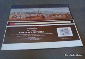 1Cartão de caixa de fósforos-0,30Fireplace Matches