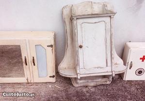 Armário antigo quarto banho (armário farmácia)