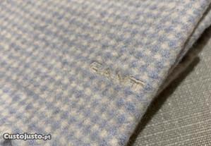 Cachecol Gant azul claro e branco