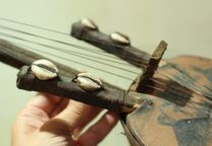 Instrumento Musical Kora Africana Pequena Manual