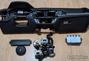 Conjunto Kit Airbags BMW X3 G01 Tablier Original