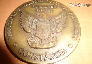 Medalha Bombeiros Constância 75 Anos Of.Envio