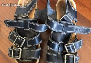 Sandálias de Salto, tamanho 36