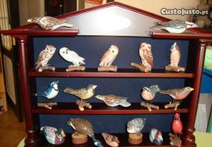 22 aves miniaturas