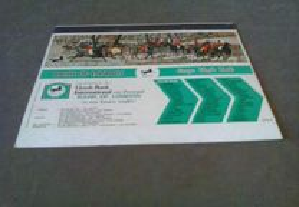 1 Cartão de caixa de fósforos-0,30 Bank Of London