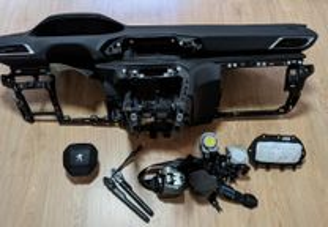 Conjunto Kit Airbags Peugeot 3008 Tablier Original