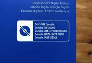 Playstation 5 Versão digital com fatura
